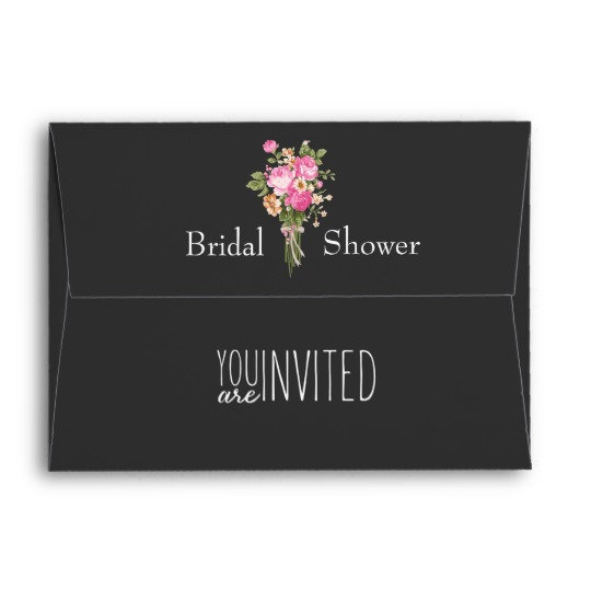 Bridal Shower Envelopes