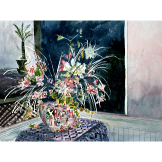 Flower still life art prints