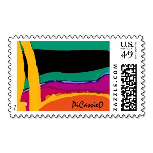 PiCassieO Postage and Cards
