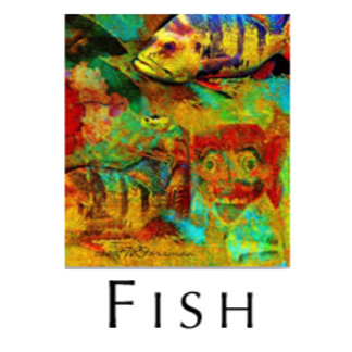 FISH collages