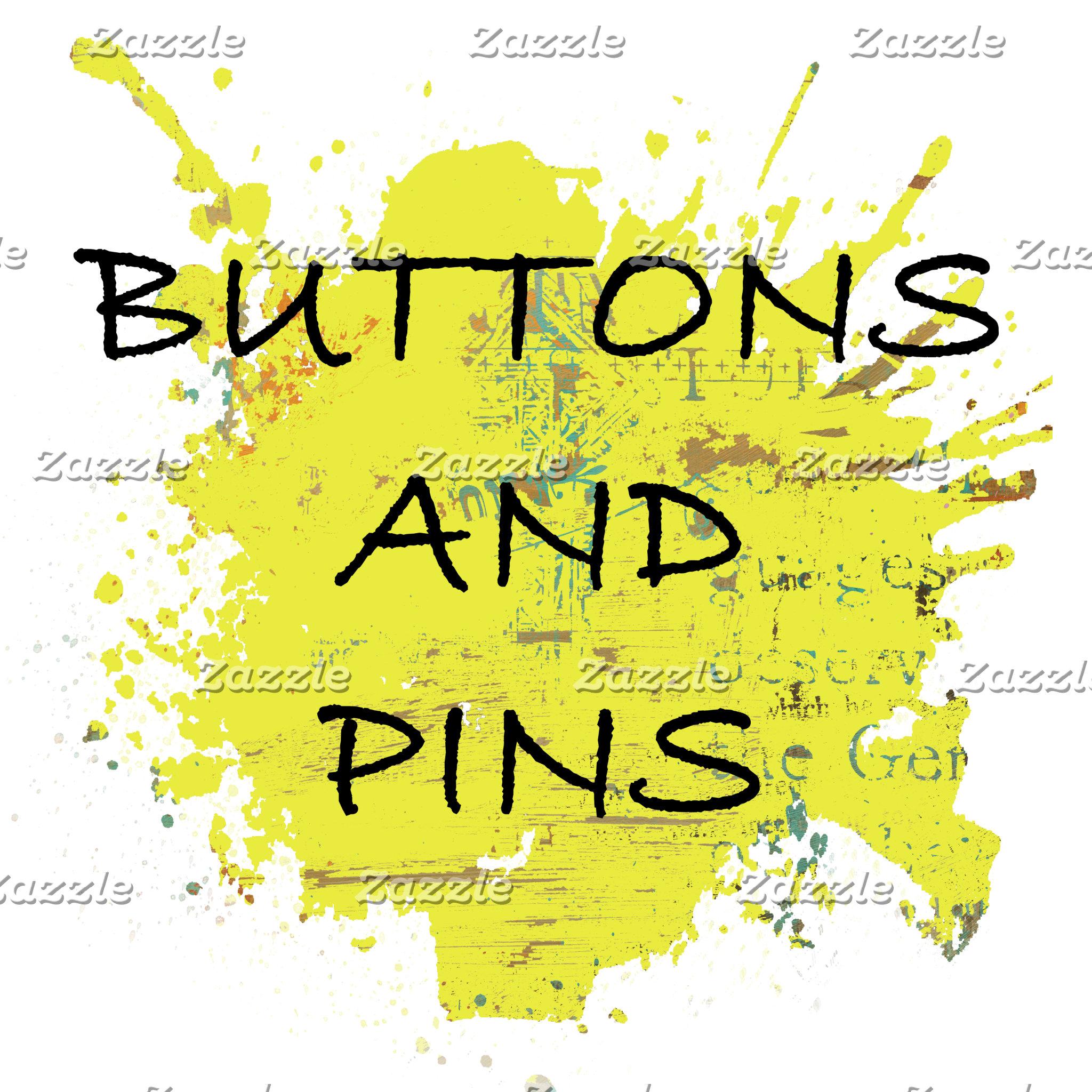 BUTTONS & PINS