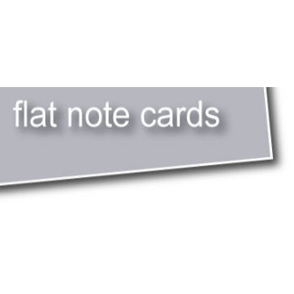 >> Flat Note Cards