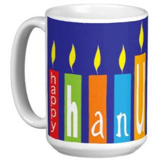 Hanukkah Gift Mugs