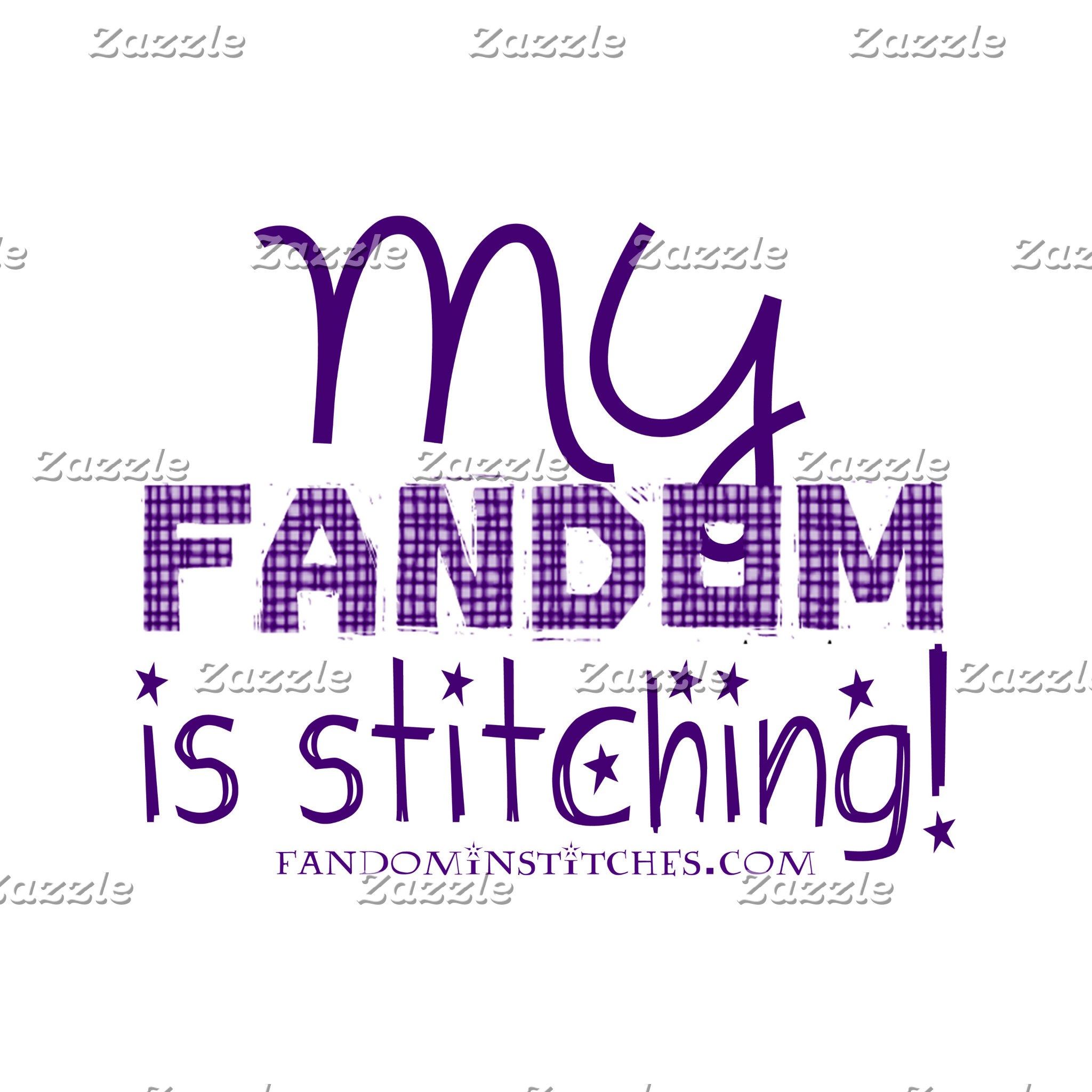 My Fandom Is Stitching