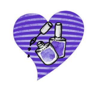 Purple nail polish love