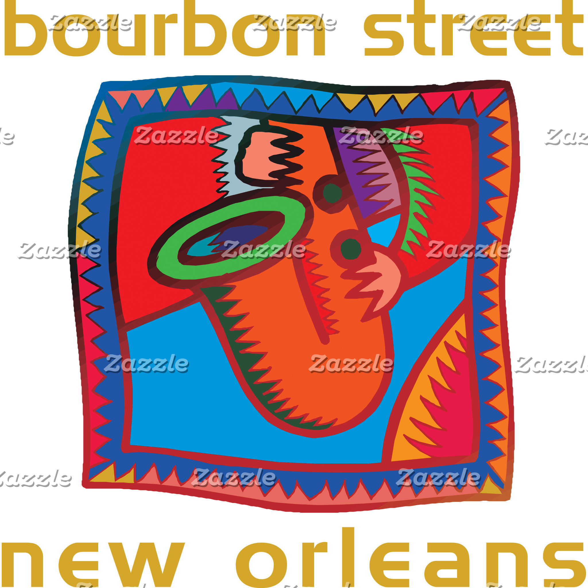 Bourbon Street New Orleans T-Shirts Gifts