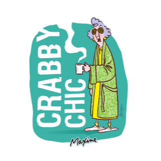 Crabby Chic in a Bath Robe