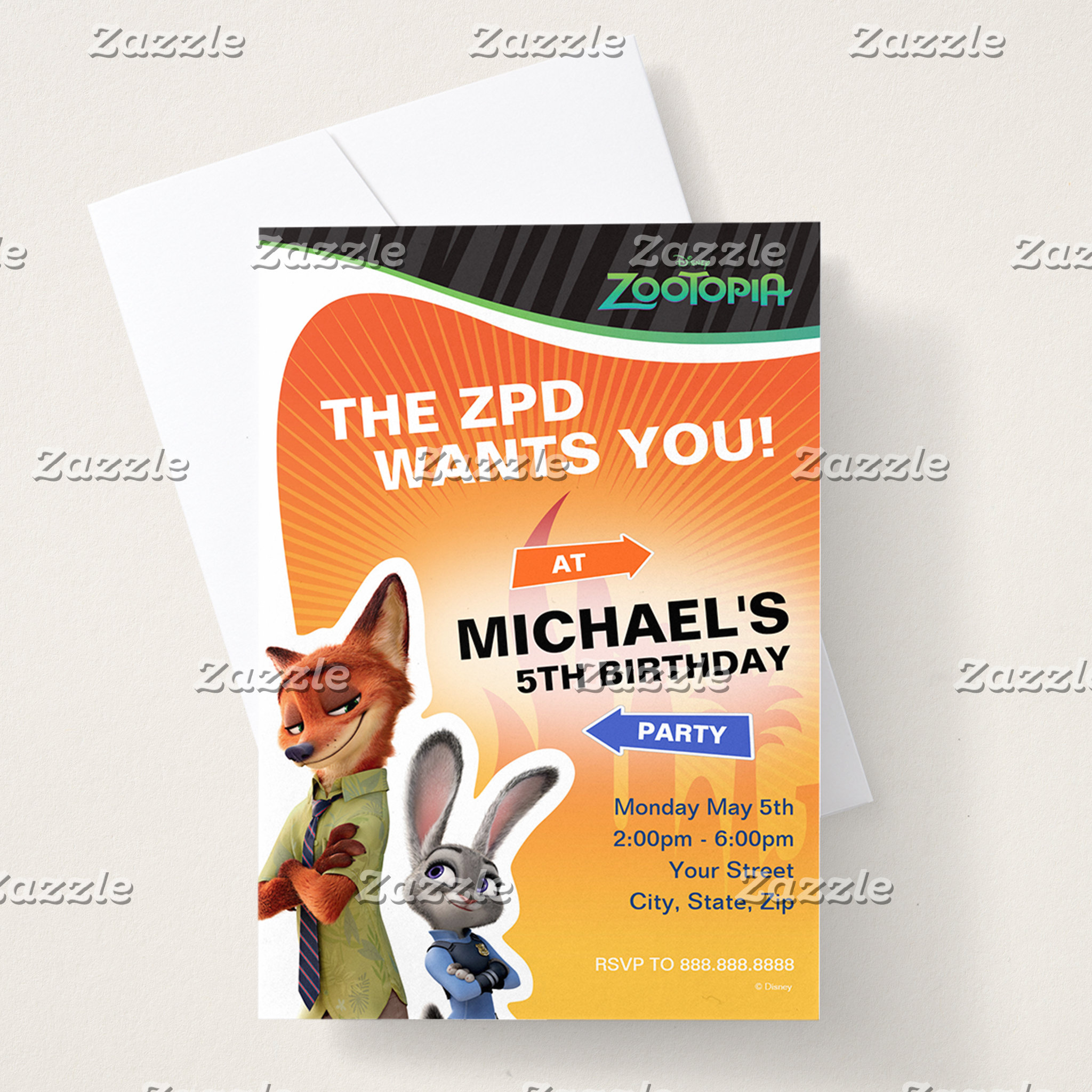 Zootopia Birthday