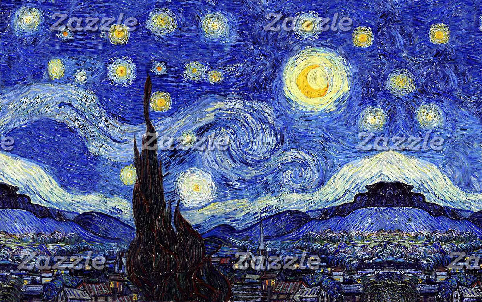 A Starry Night Van Gogh Inspiration
