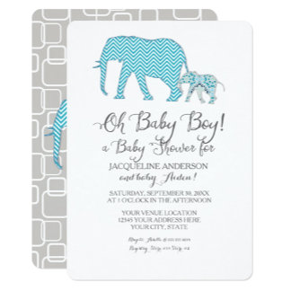 BOY | Patterned Elephants