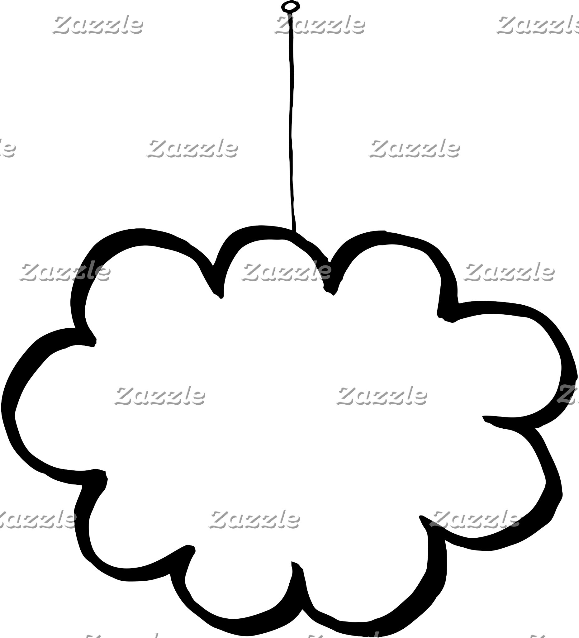 Cloud on a string