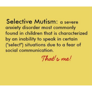 Selective Mutism Definition