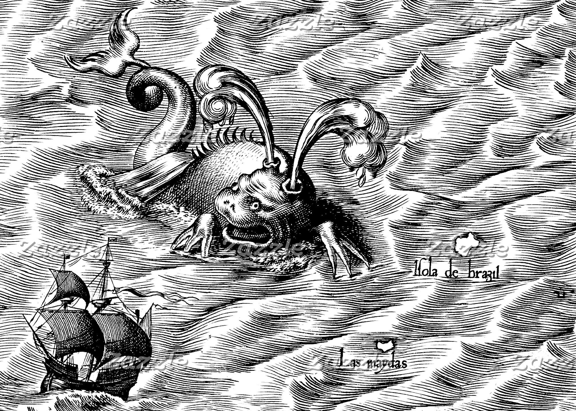 Arctic Sea Monsters