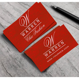 GENERIC BUSINESS CARDS