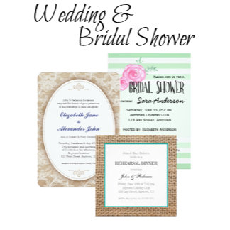 Wedding and Bridal Shower