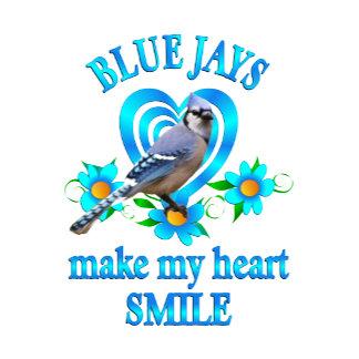 Blue Jay Smile