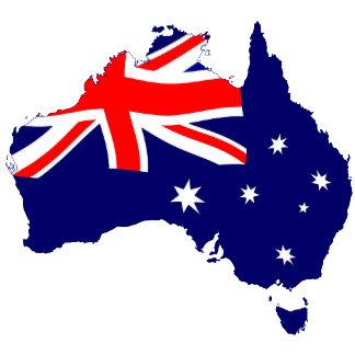 Australia Shape Flag