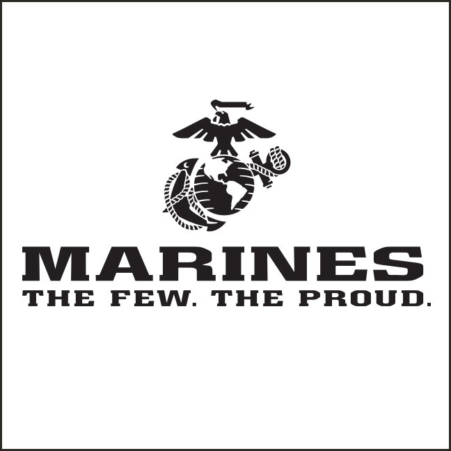 The Few The Proud Logos