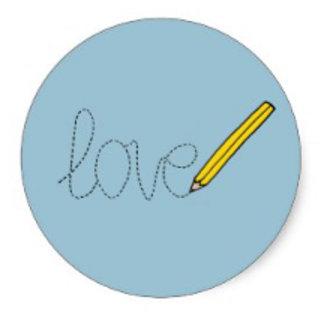 Love Writing Pencil