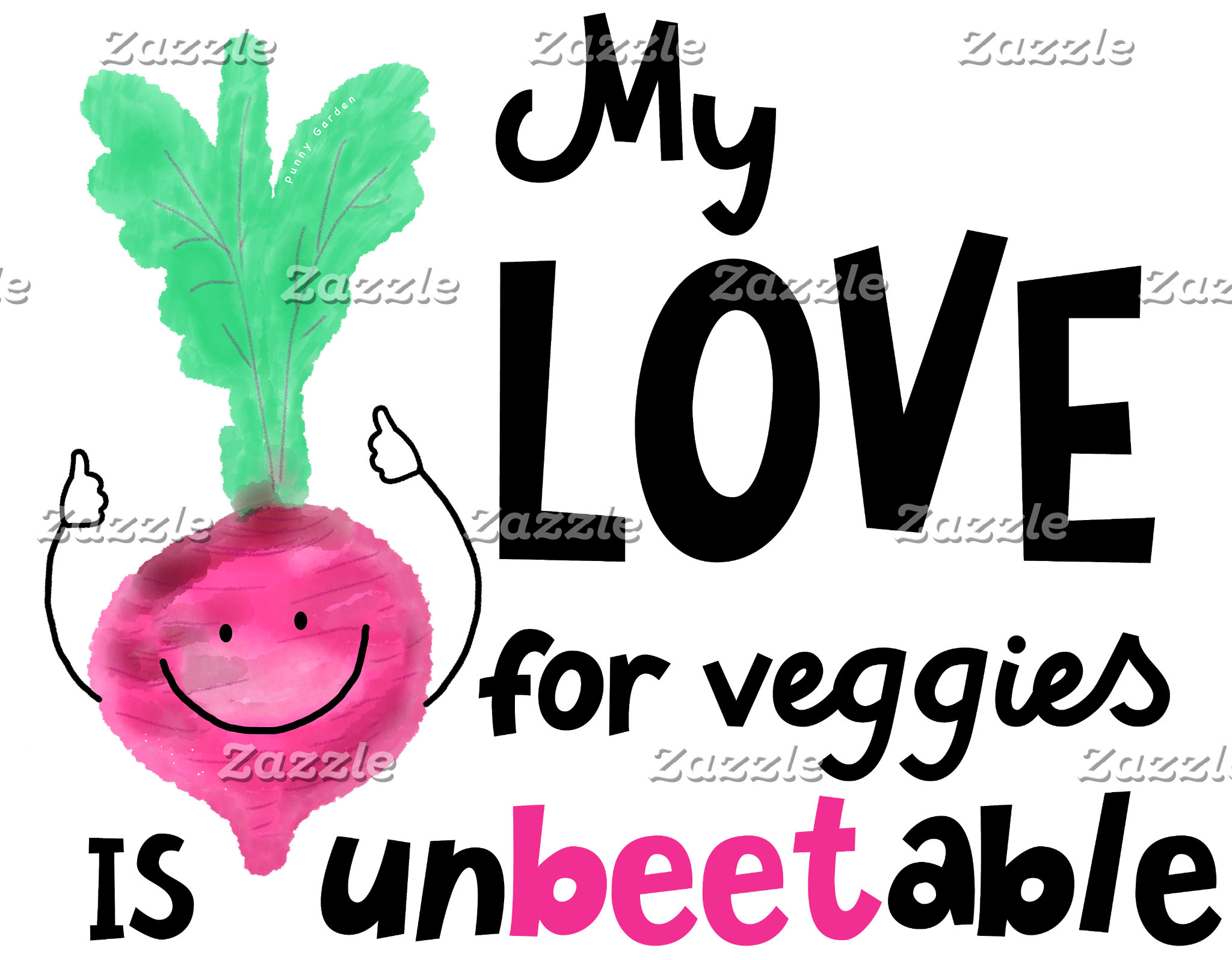 My Love For Veggies Is Unbeetable