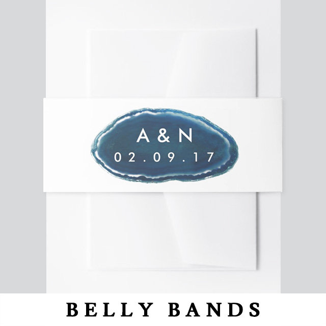 Invitation Belly Bands