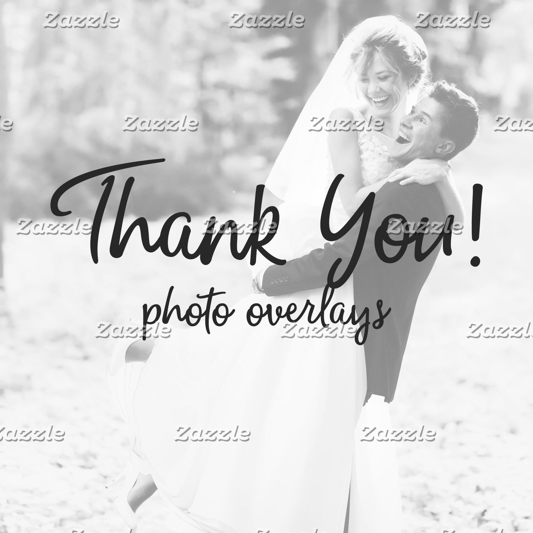 Thank You Photo Overlay