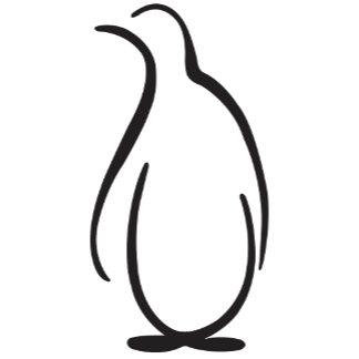 Theta Phi Alpha Penguin Logo