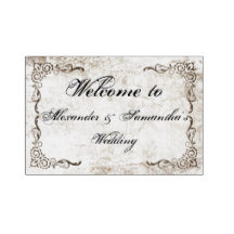 Weddings, Anniversary, Other Custom Banners Signs