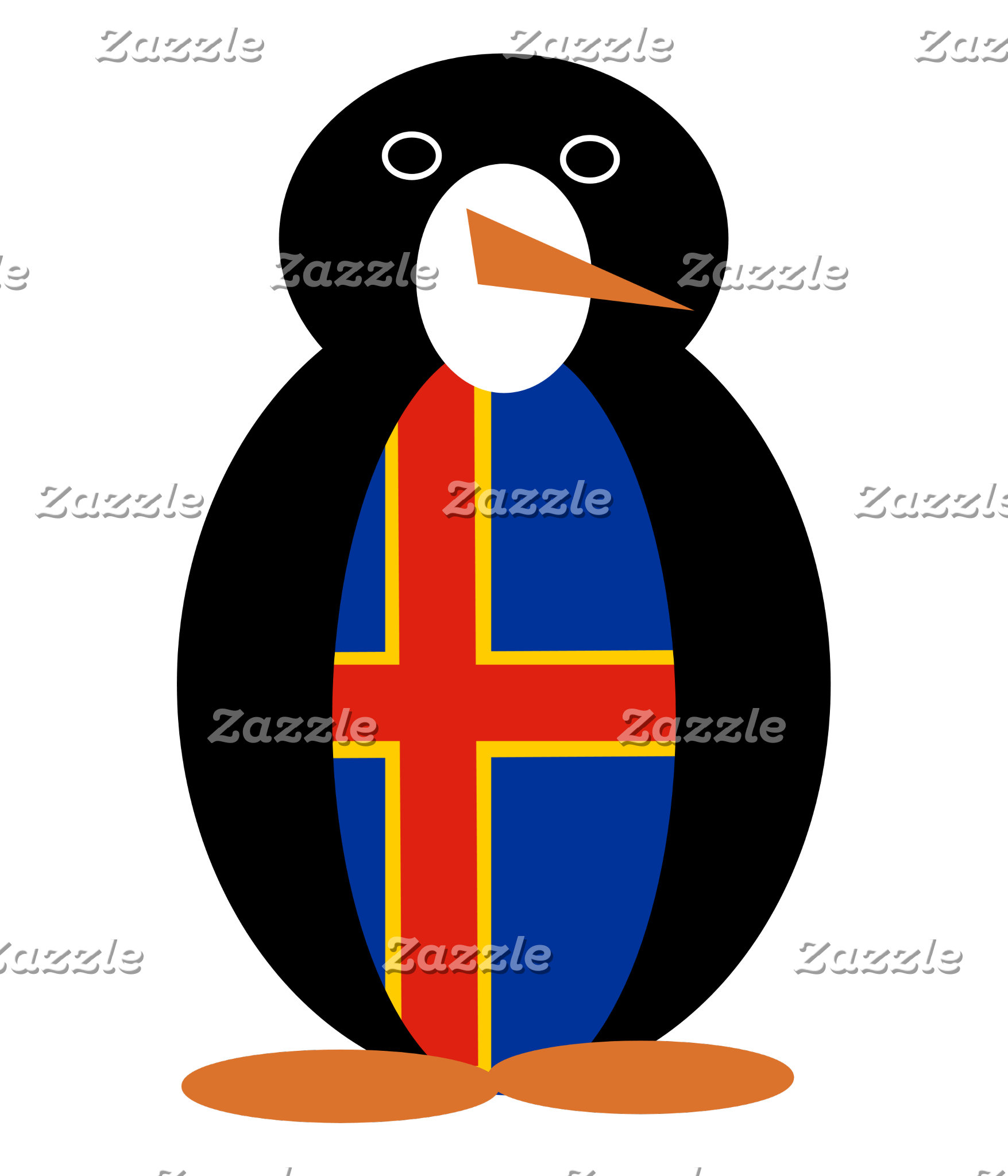 Aland Islands Holiday Mr. Penguin