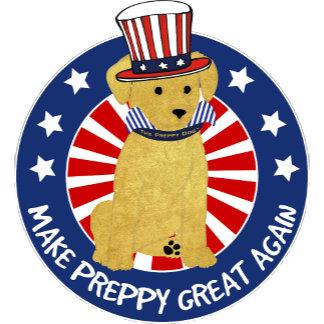 Preppy Dog Political Spoof