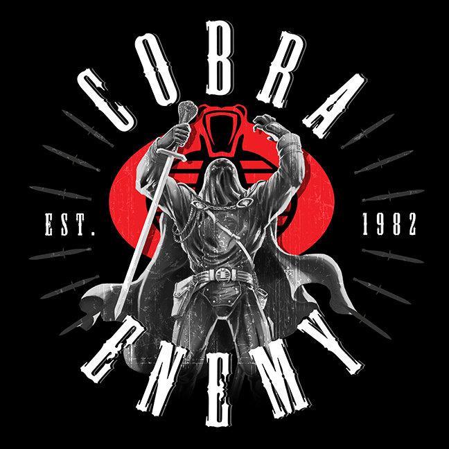 Cobra Commander Biker Badge