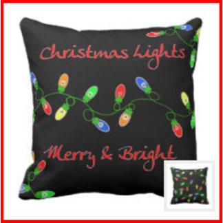 Christmas Tree Lights Apparel & Decor