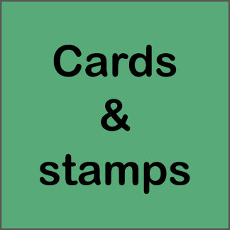 Cards and stamps