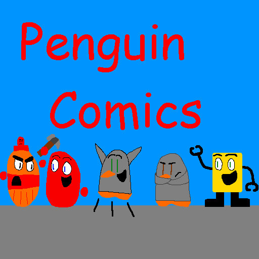 Penguin Comics logo