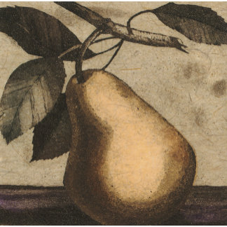 """Pear on Branch Poster Print"""