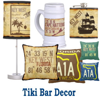 Tiki Bar Decor