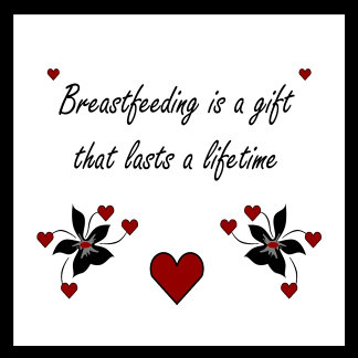 Breastfeeding is a gift that lasts a lifetime