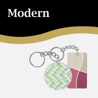 Modern Keychains