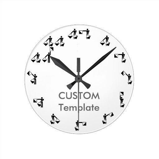 """8"""" Round Clocks"""