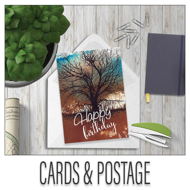 Cards And Postage