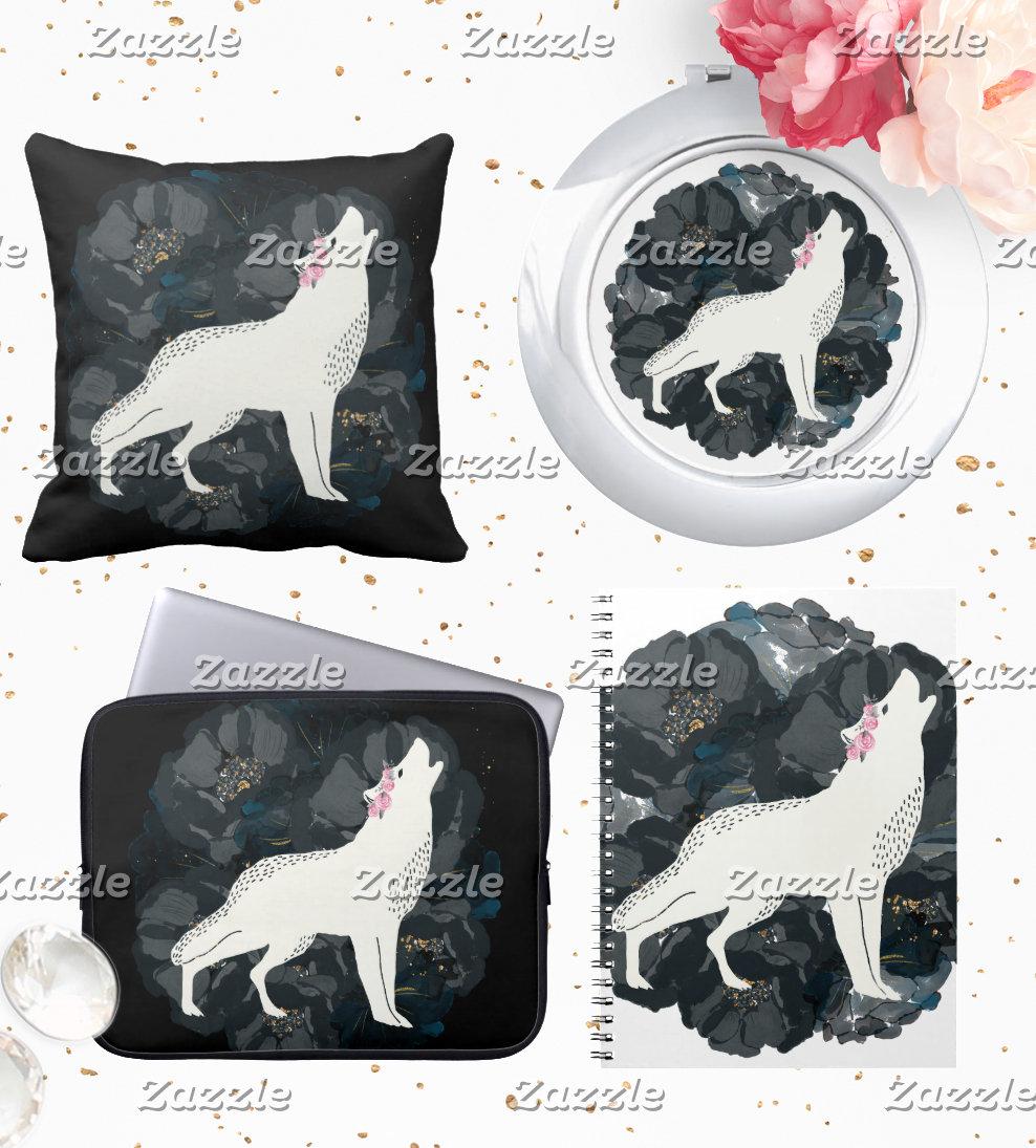 White Wolf Black Roses