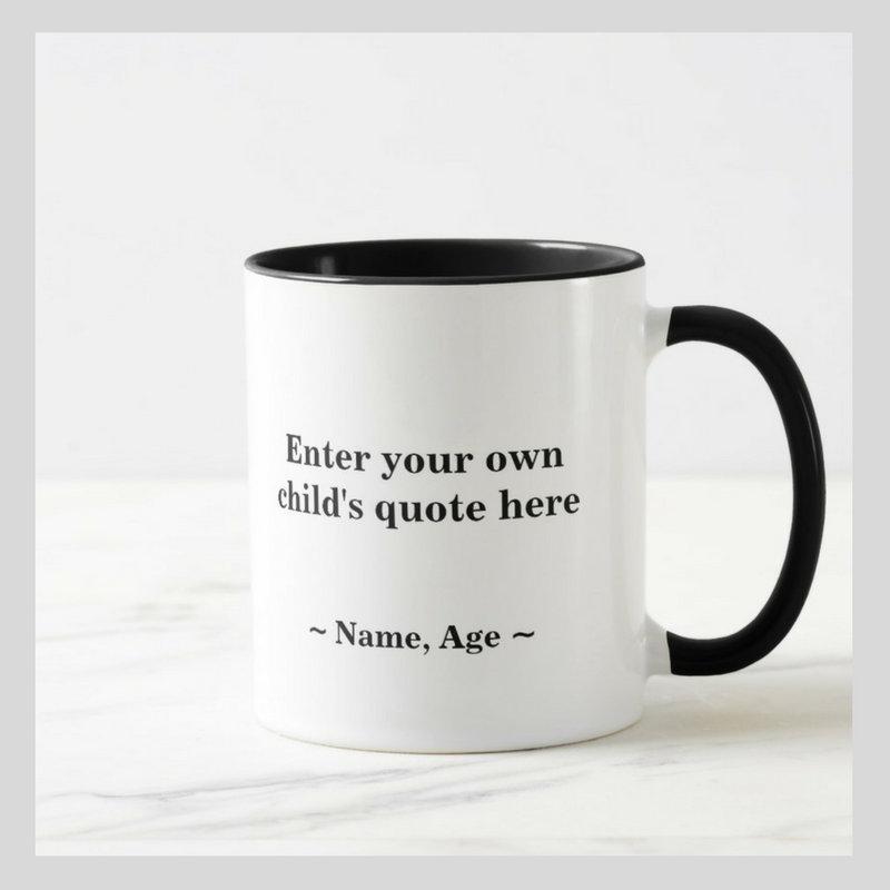 Kids' Quotable Mugs