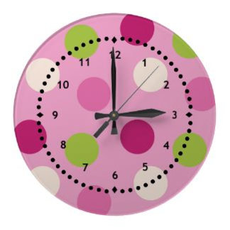 Polka Dots Clocks