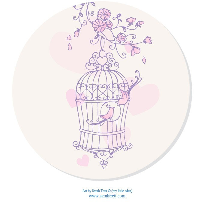 Bird Cage Hearts Wedding