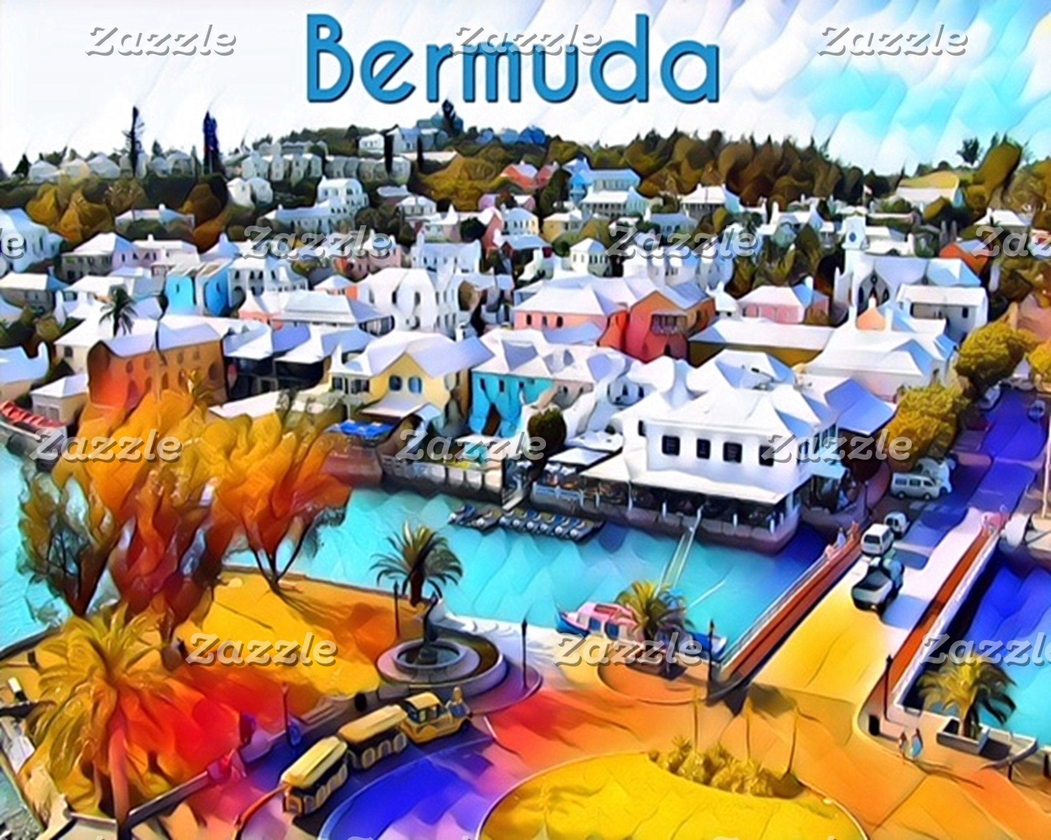 Neon Pop Art 4544 Bermuda