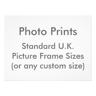 Picture Frame Sizes (UK)
