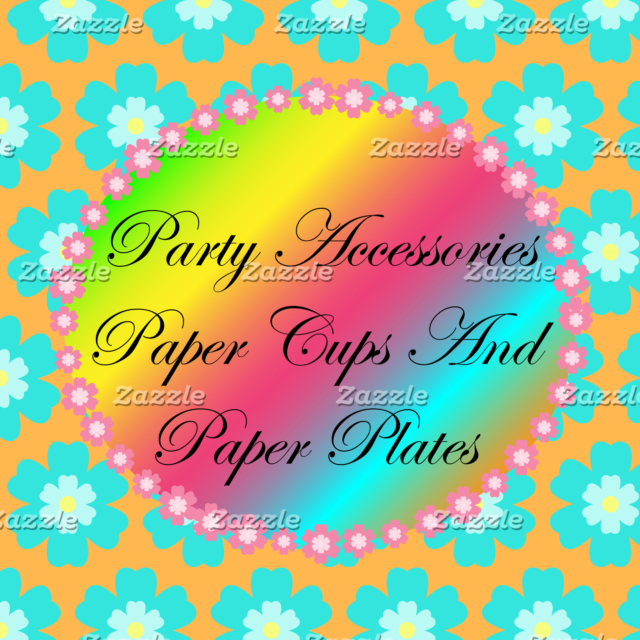 11. Paper Cups And Plates And Party Accessories