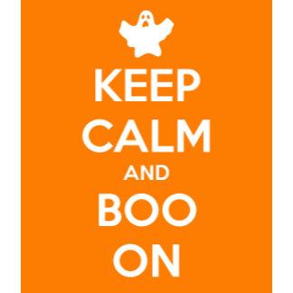 Keep Calm and Boo On