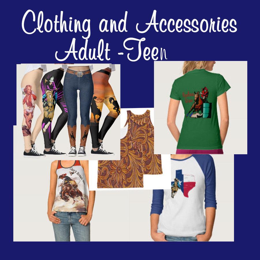 Western Clothing - Adult- Teen