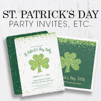 Saint Patrick's Day Party Invites & Supplies